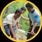 penggunaan pompa air tenaga surya untuk komunitas