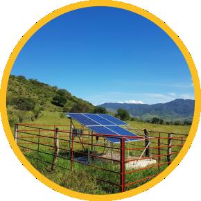 panel surya didesain khusus untuk pompa air tenaga surya