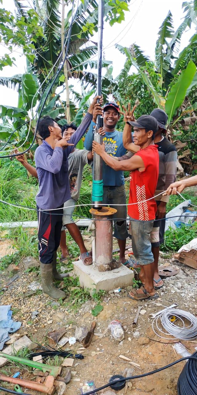 Implementasi pompa air tenaga surya lorentz di adipurwa - jambi - 5
