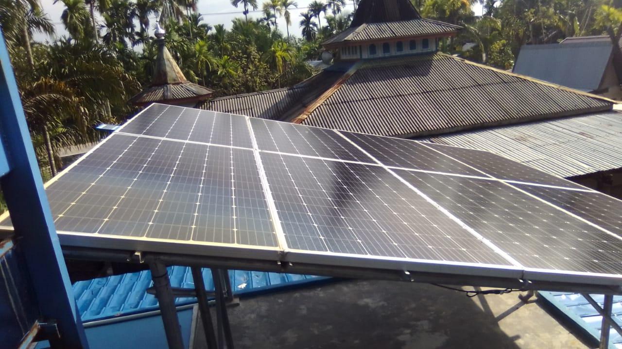 Implementasi pompa air tenaga surya lorentz di bram itam - jambi - 4