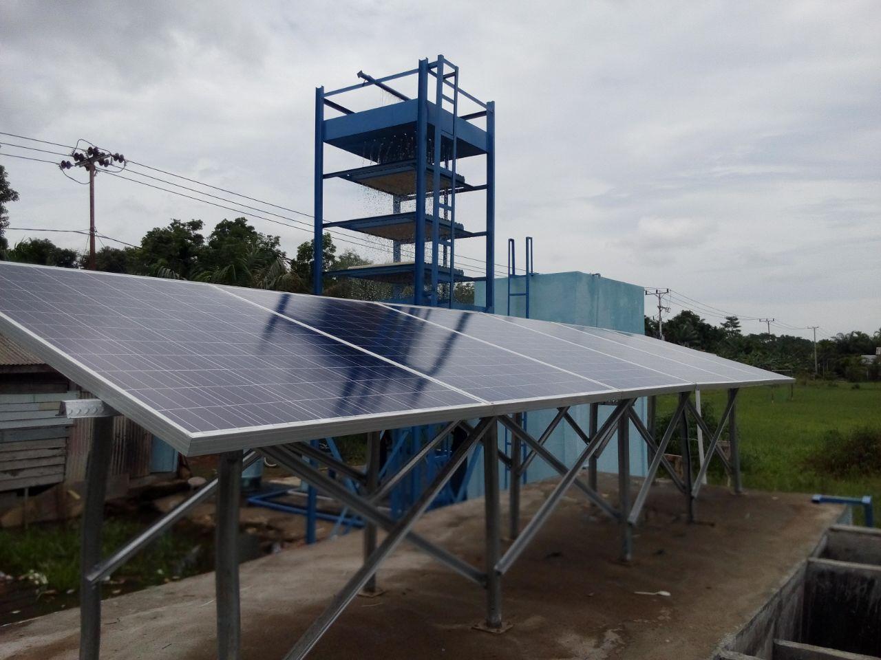 panel surya untuk pompa air tenaga surya