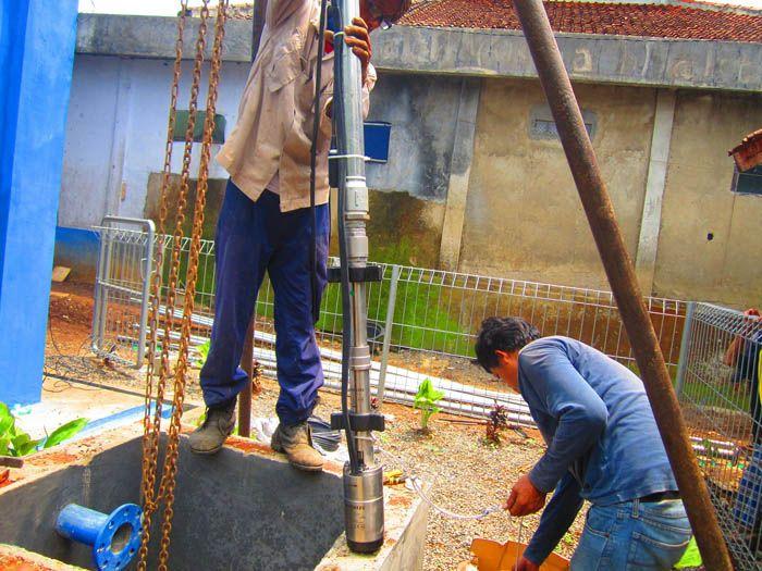 Implementasi pompa air tenaga surya lorentz di Banten - 6