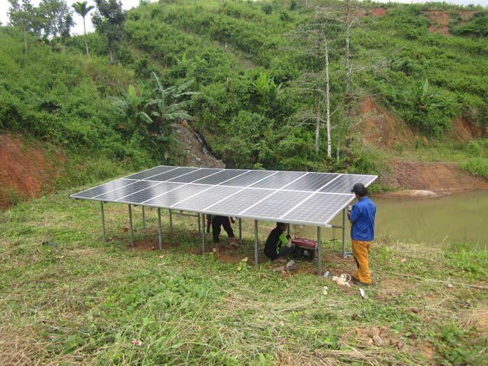 Implementasi pompa air tenaga surya lorentz di Denduka - Sumba Barat - 6