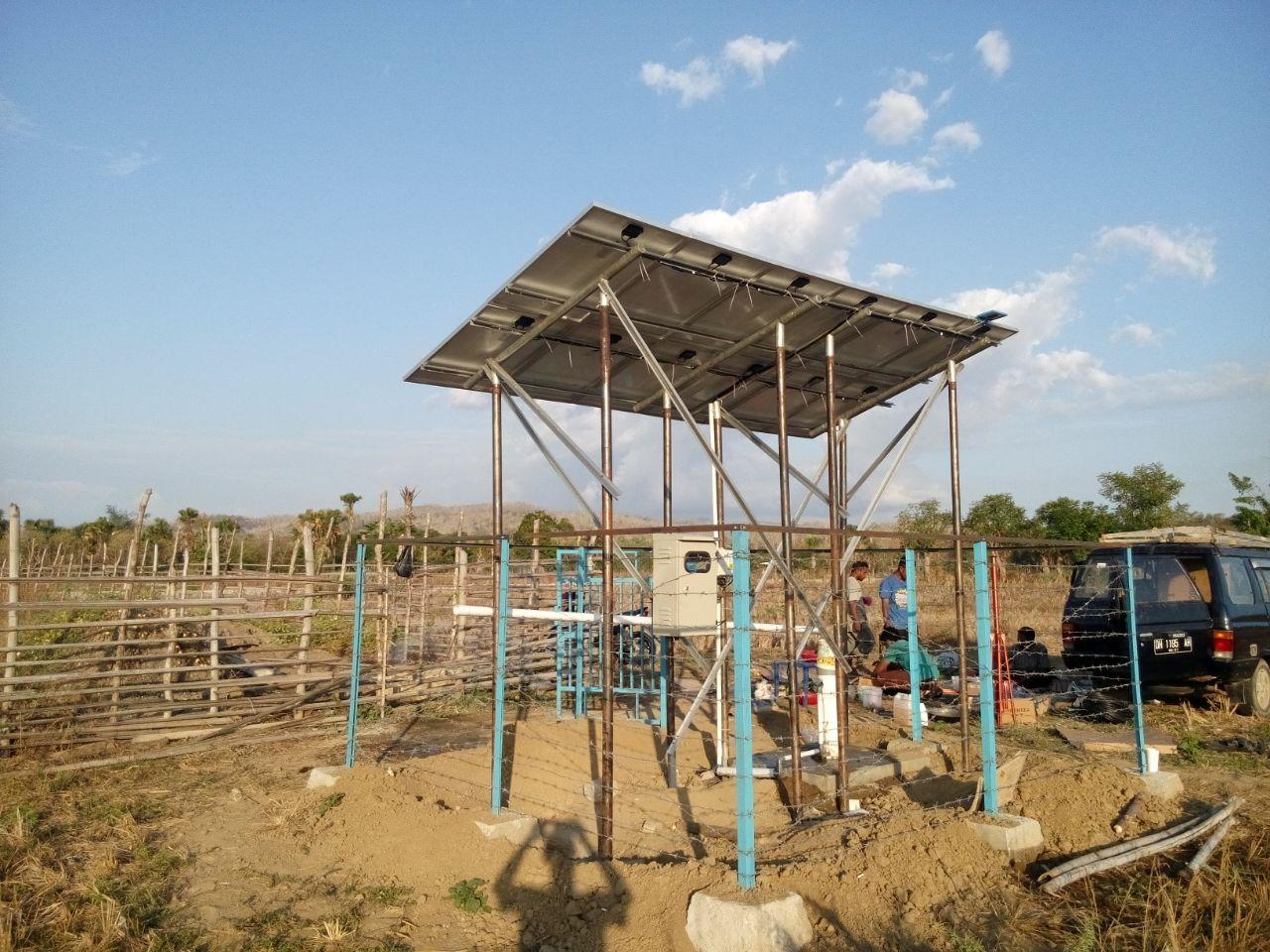 Implementasi pompa air tenaga surya lorentz di Fatuleu - Kupang - 2