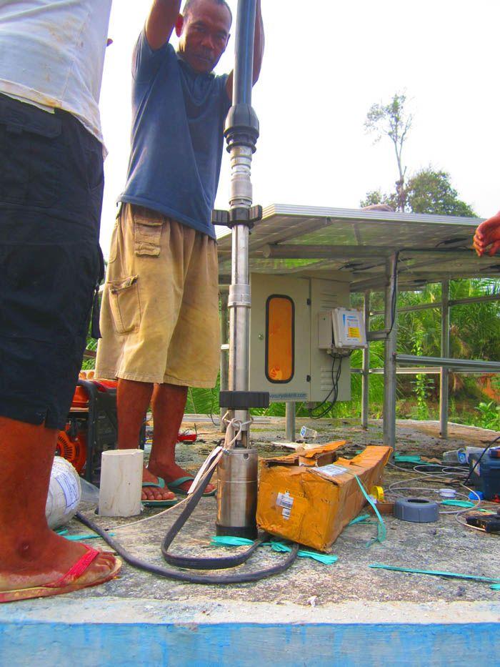 Implementasi pompa air tenaga surya lorentz di kalimantan tengah - 6