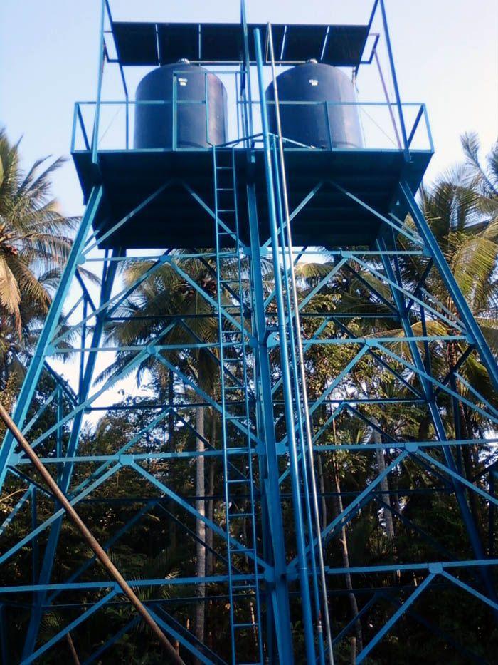 Implementasi pompa air tenaga surya lorentz di kampung - banten - 7