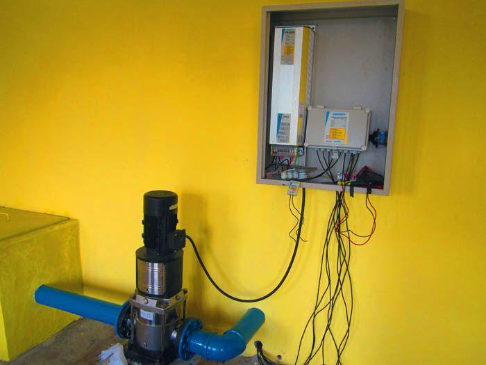 Implementasi pompa air tenaga surya lorentz di Mempawah - KalBar - 3
