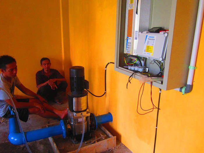 Implementasi pompa air tenaga surya lorentz di mempawah - kalbar - 5