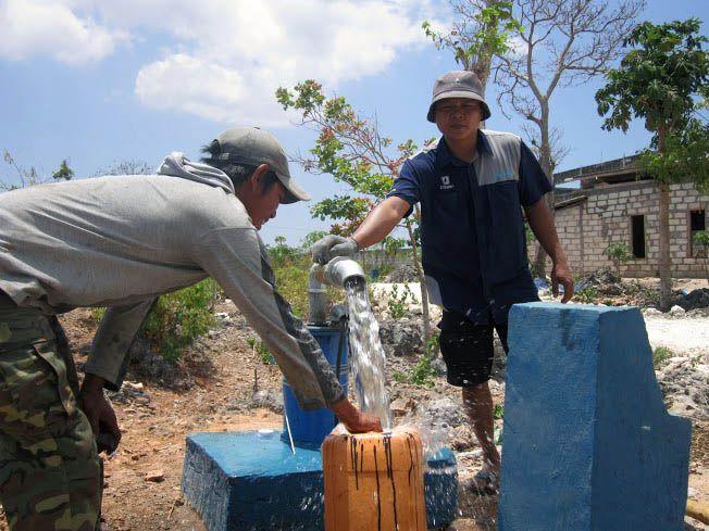 Implementasi pompa air tenaga surya lorentz di Kupang - 4