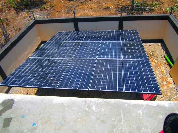 Implementasi pompa air tenaga surya lorentz di Atambua - NTT - 7
