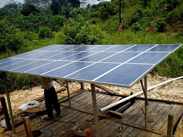 Implementasi pompa air tenaga surya lorentz di rote barat daya - 4