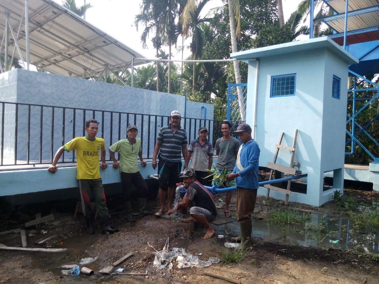 Implementasi Pompa Air Tenaga Surya Di suak Samin 1
