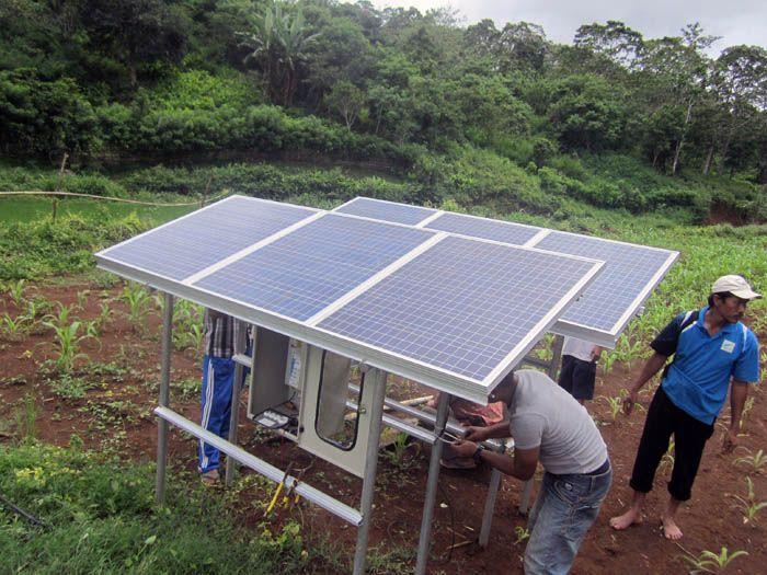 Implementasi pompa air tenaga surya lorentz di Sumbawa 2 - 7
