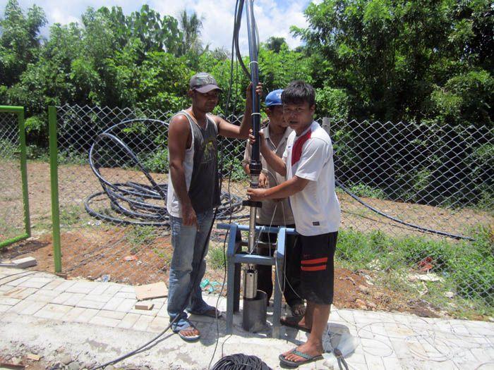 Implementasi pompa air tenaga surya lorentz di taliwang - 8