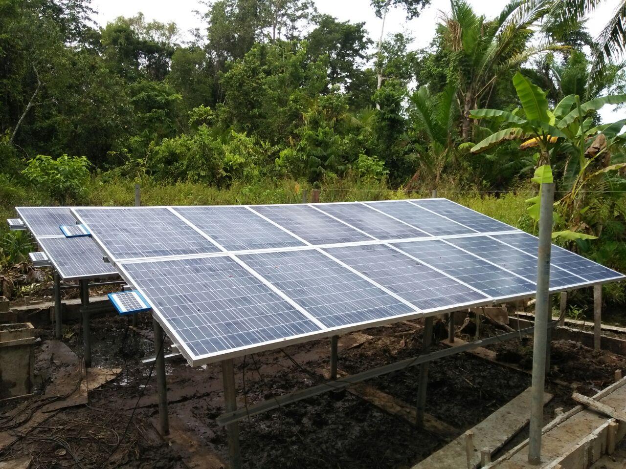 pomp air tenaga surya sanspower