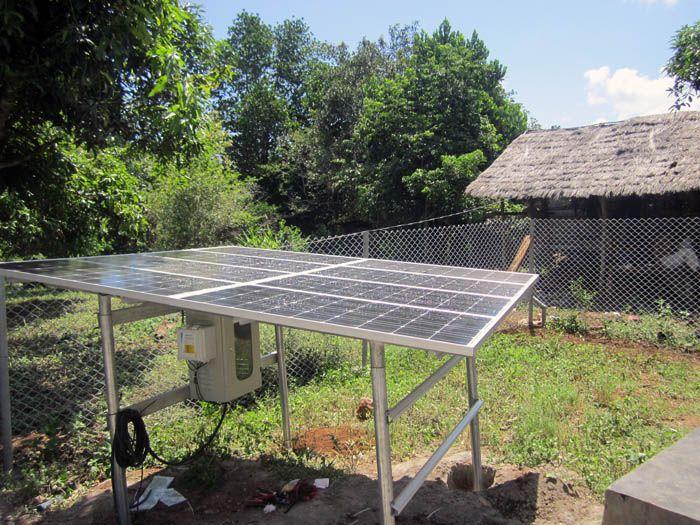 panel surya untuk pembangkit listrik