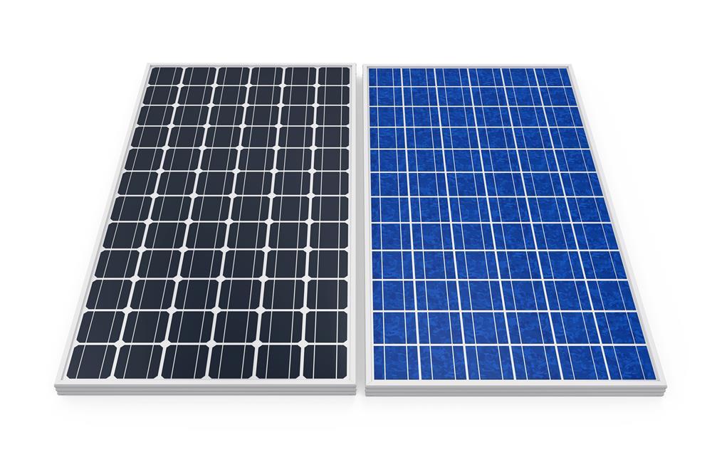 panel surya mono dan poly