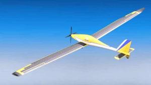drone tenaga surya