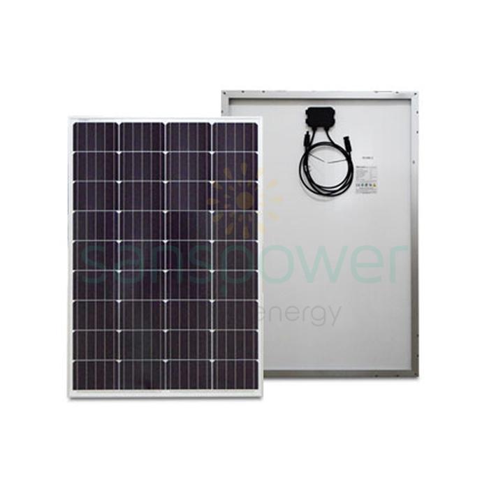 panel surya 100 wp mono solana
