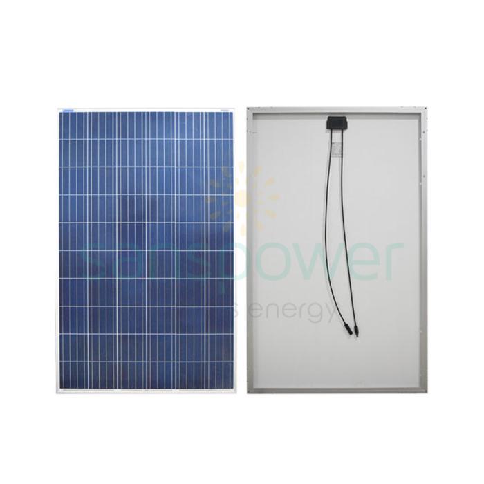 jual panel surya 150 wp poly luminous