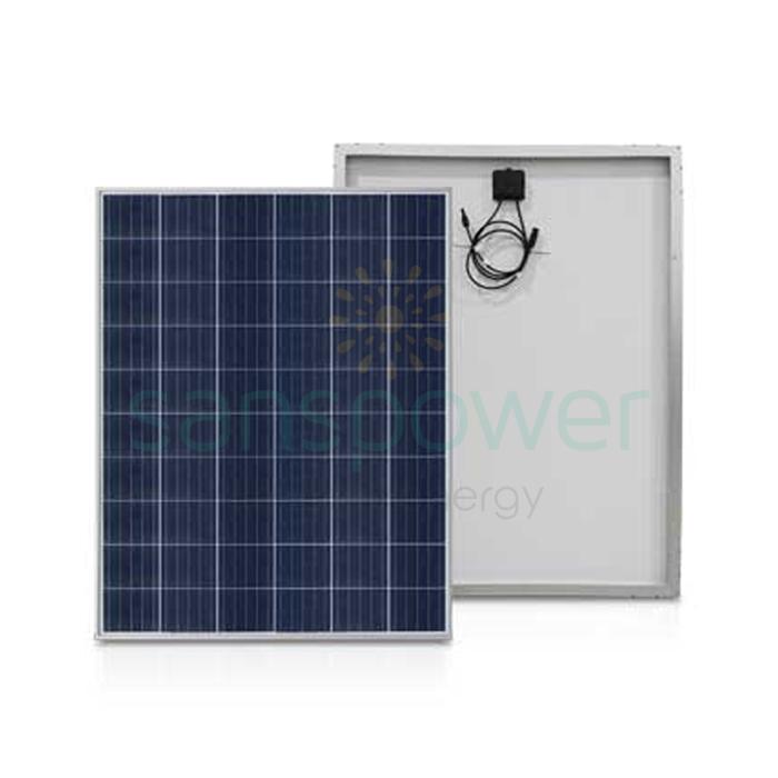 panel surya 150 wp poly solana