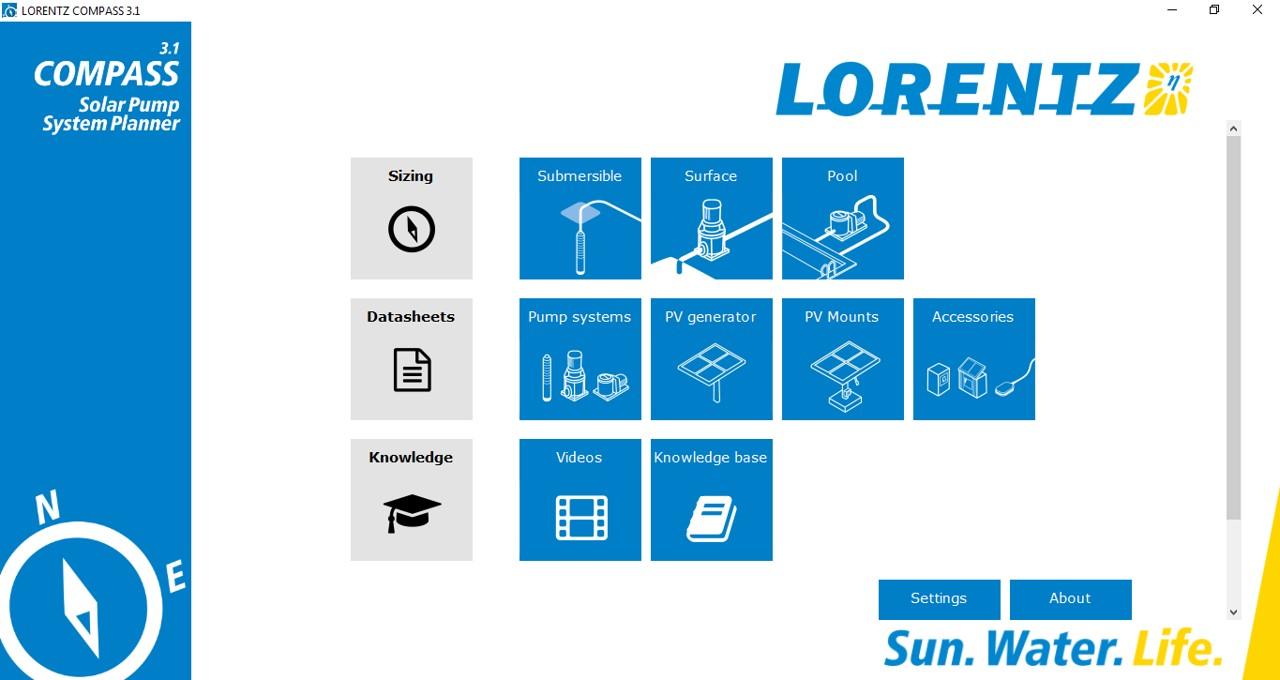 lorentz compass
