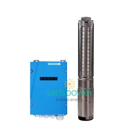 pompa air tenaga surya pompa submersible lorentz ps2-1800 c-sj5-12