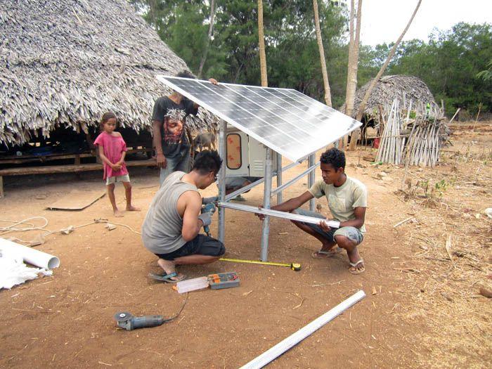 dana desa untuk tenaga surya